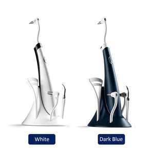 Electric Ultra-Sonic Acoustic Vibration Tooth Cleaner Scaler Tooth Calculus Remover Teeth Stains Tartar teeth Whitening(China)
