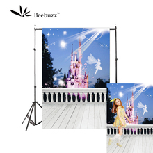 Beebuzz photo backdrop backgroung for children the princess dream castle under light photophone