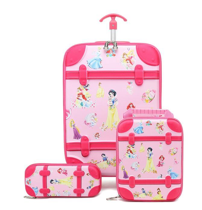 3D Kids wheeled backpack for school  travel trolley bag Children Travel luggage suitcase Mochila kids Trolley Bags with wheels|School Bags| |  - title=