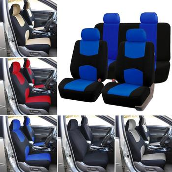 2020 Top Car Seat Covers 9pcs Universal Auto Protect Covers Automotive Protect Seat Cushion Cover Car Wholesale Quick Delivery universal auto car seat cover auto front rear chair covers seat cushion protector car interior accessories 3 colors