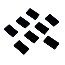 10/15/20/30 PCS Black Foam Filters for Respironics M Series,PR System One,SleepEasy Series Respirator Replacement CPAP-Filters woodyknows replacement nano foam filters for super defense nose nasal filters white size iiis