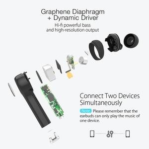 Image 3 - VR3 BW FYE6 TWS Bluetooth 5.0 Không Dây Tai Nghe Chụp Tai Graphen Màn Hình Hiển Thị Kỹ Thuật Số Điều Khiển Cảm Ứng Song Phương Gọi Handfree Tai Nghe Chụp Tai