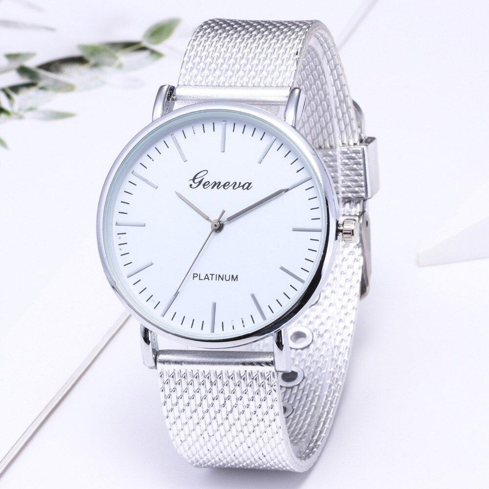 top luxury brand GENEVA Fashion Classic Women Watch Quartz Stainless Steel Wrist Watch Bracelet Watches Women Business relogio feminino reloj best gifts wholesale (11)