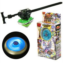 Beyblades Gyro Tops Burst Fusion-Toys Led-Light Arena Metal Emitting Boys with for Classic