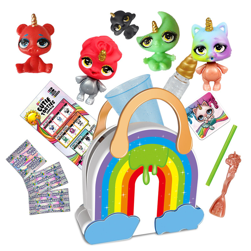 Poopsie Slime Unicorn Slime Rainbow Bag DIY Spit Mucus Doll Toys Hobbies Stress Relief Toy Squeeze For Children Squishy