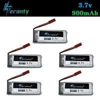 3,7 V 900mah 752560 Batterie Für X5 X5C X5SC 8807 8807W A6 A6W M68 Drohnen lipo batterie Rc quadcopter Ersatzteile Zubehör 5Pcs