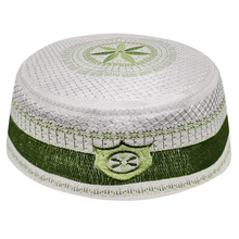 Erkekler bonnet müslüman şapkalar yeşil arapça yahudi Kippah arap Musulman Kippot namaz türban kapaklar İslam giyim erkekler