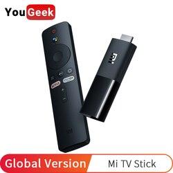 Глобальная версия Xiaomi Mi TV Stick Android TV 9,0 четырехъядерный 1080P Dolby DTS HD Двойное декодирование 1 ГБ ОЗУ 8 Гб Google Assistant Netflix