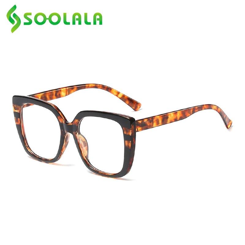 SOOLALA весенний навесной анти-синий светильник очки для чтения женские мужские леопардовые руки Пресбиопия читатель очки для чтения + 1,0 1,5 до 4...