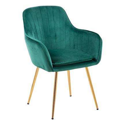Принцесса Принц леди нордический Золотой Железный Металл мягкий бархат обеденный стул домашний комод Свадебный праздник ужин бар кофе диван стул - Цвет: C2