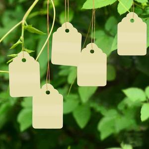 Image 3 - 100 pcs Plant Hanging PVC Tags Tree Labels Waterproof Strip Line Gardening Labels Multi Colored For garden potted plants