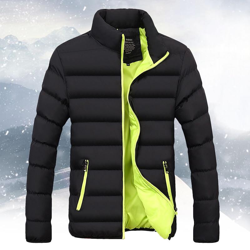 Big Size Men's Winter Jacket Ultralight Down Jacket Casual Outerwear Snow Warm Brand Coat Parkas