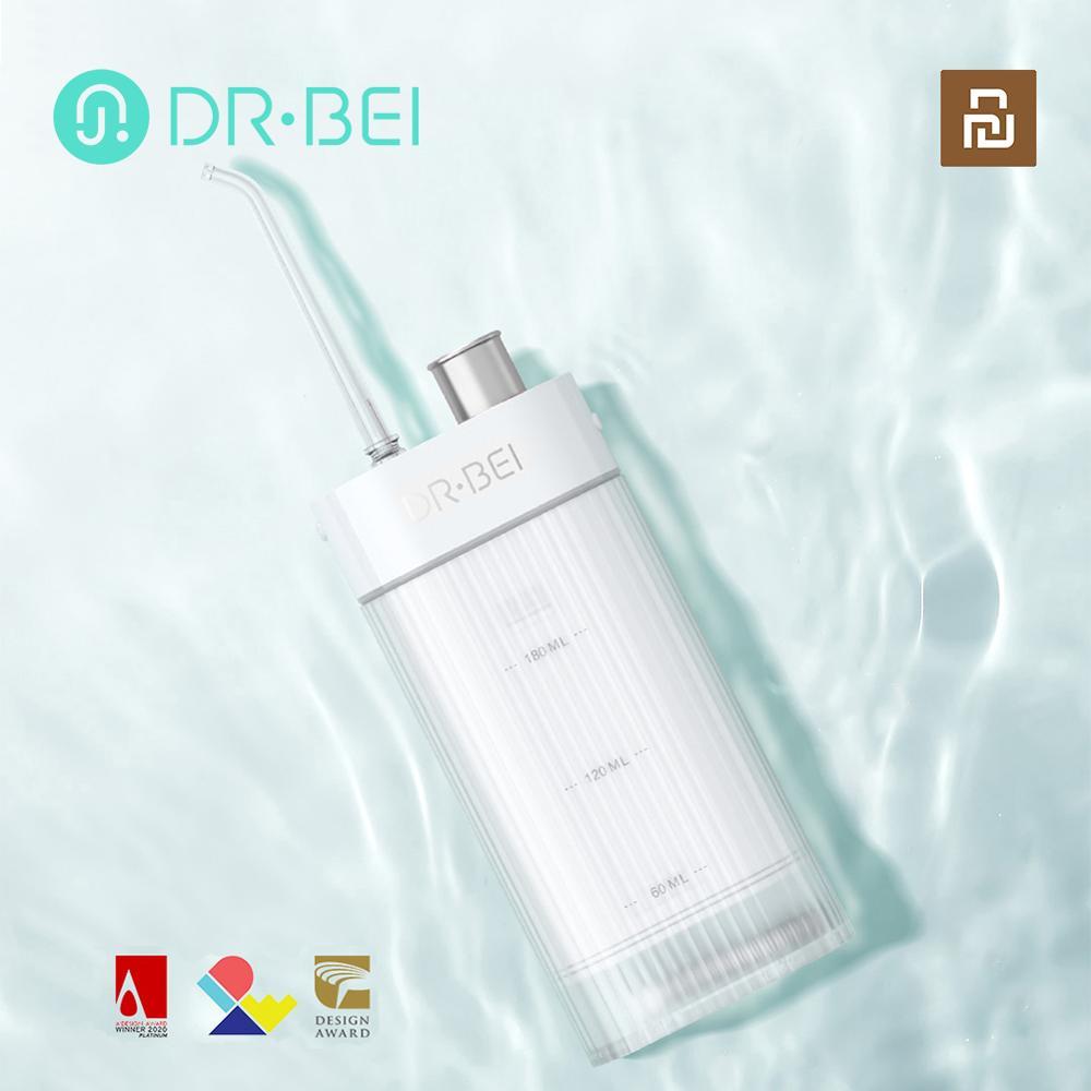 xiaomi youpin irrigador oral dental portatil flosser de agua recarregavel usb ipx7 irrigador para limpeza dos