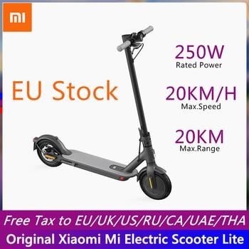 Xiaomi-patinete eléctrico Mi Lite inteligente, patinete de dos ruedas, M365 Lite, disponible en la UE