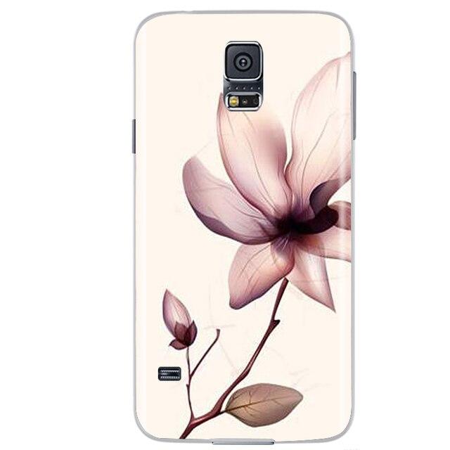 Coque de téléphone pour Samsung Galaxy S5 mini Coque arrière pour Samsung S5 Mini SM-G800F G800 Coque souple en Silicone