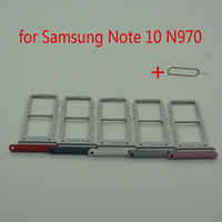 Sim Card Adapter For Samsung Note 10 N970 Galaxy Note10 N970F Original Mobile Phone Housing New Micro SD Card Tray Holder Slot