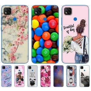 For xiaomi redmi 9C NFC Case Soft TPU Silicon Phone Back Cover For redmi 9C Case 6.53 inch etui bumper fundas coque