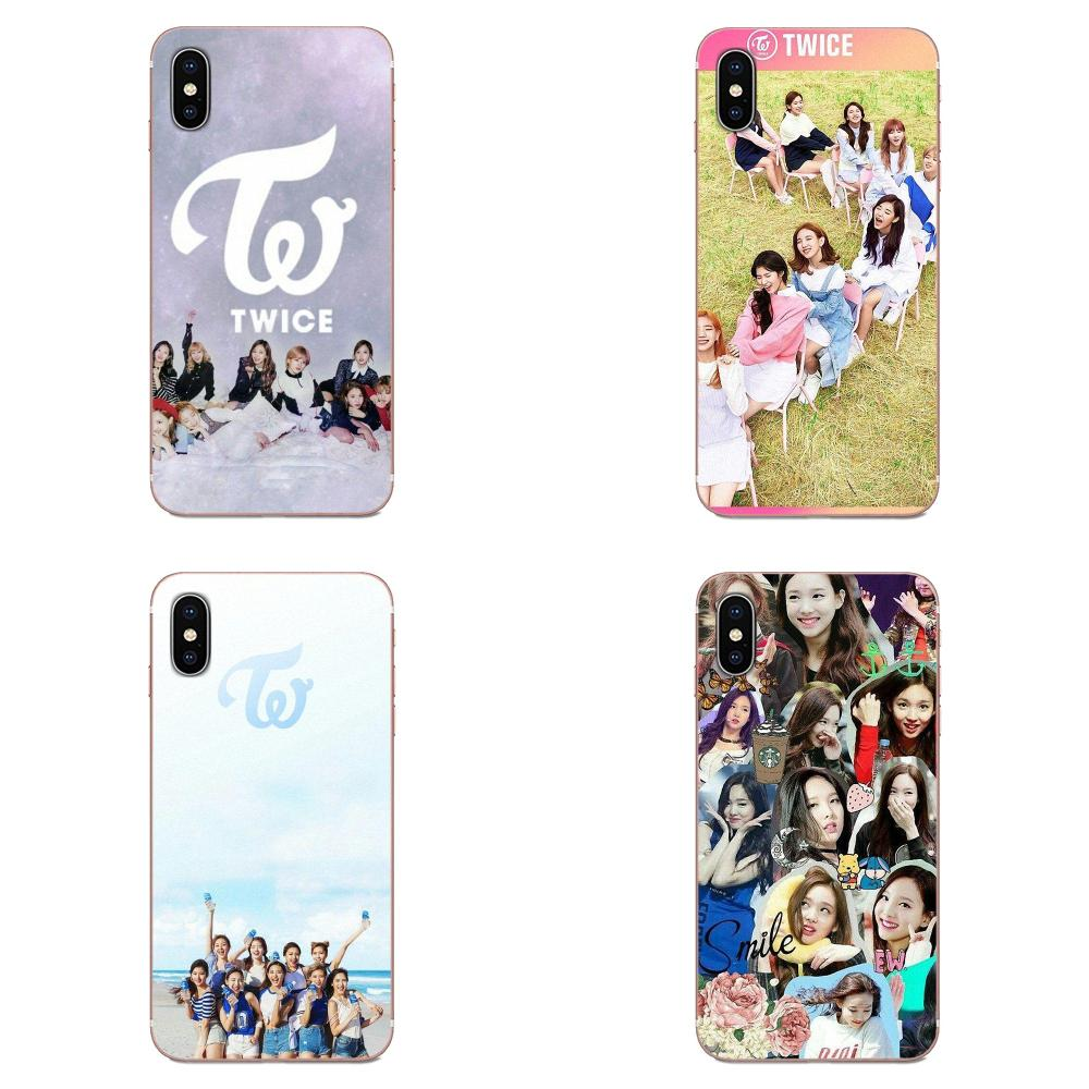 Soft TPU Mobile Phone <font><b>Cases</b></font> Twice Kpop For <font><b>Samsung</b></font> Galaxy Note 5 8 9 S3 S4 <font><b>S5</b></font> S6 S7 S8 S9 S10 5G <font><b>mini</b></font> Edge Plus Lite image