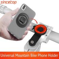 Universele Mobiele Telefoon Houder Fiets Aluminium Quick Mount Stand Draaibare Mountainbike Stuur Beugel Voor Harley-Davidson