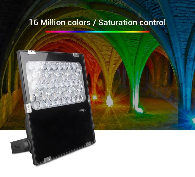 Miboxer LED Tuin Licht AC100 ~ 240V Groene ruimte/Park/road/decoratie smart Outdoor licht lamp waterdichte IP65FUTC06 50W RGB + CCT