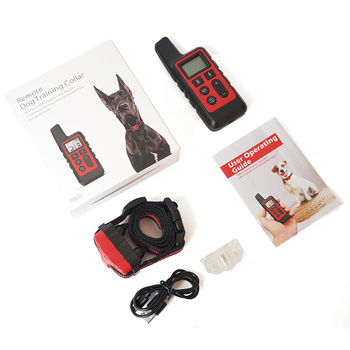 Dog Training Collar Vibrate & Electric Shock Collar Rechargeable Waterproof Remote Shock Collars For Dogs Behavioral Training 8