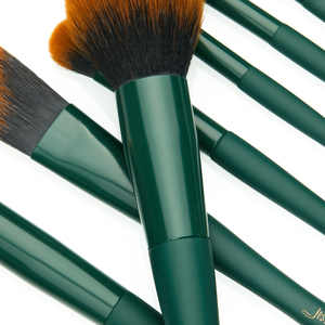 Image 3 - Jessup brush Makeup brush Trekking Green Powder Eyeshadow Concealer Foundation Make up brushes Rubber coated Synthetic hair