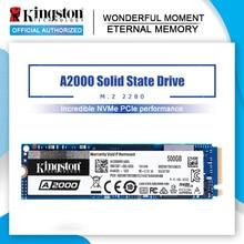 Kingston A2000 NVMe M.2 2280 SATA SSD 120GB 240GB 480GB 960GB dahili katı hal sürücü sabit Disk SFF PC dizüstü Ultrabook