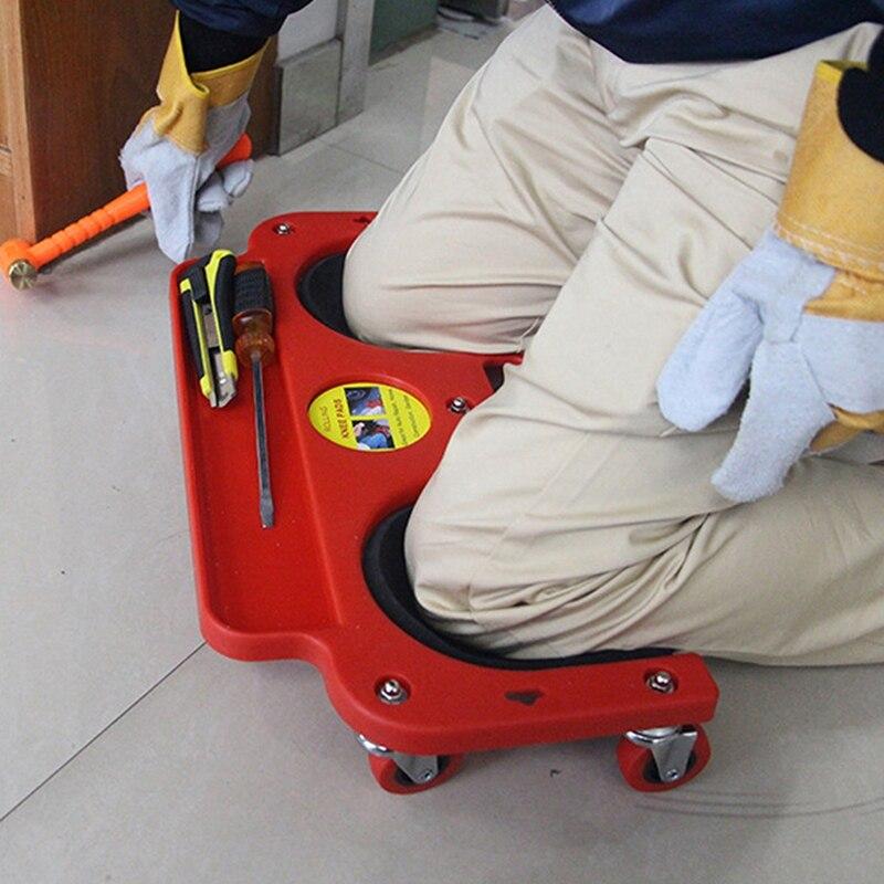 Protección de rodilla de 3C-Rolling con almohadillas con ruedas integradas