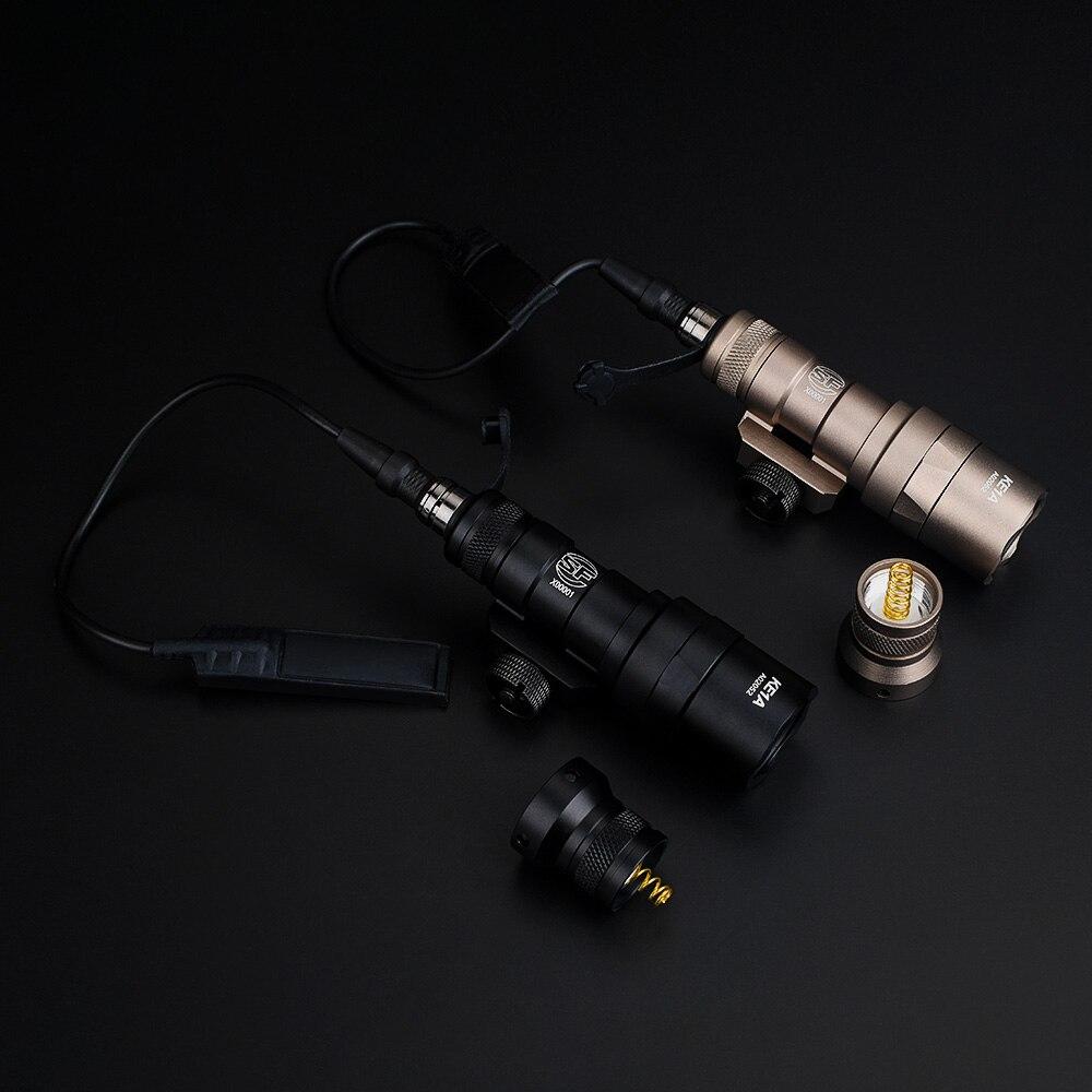 Airsoft surefir m300 m300b mini scout luz