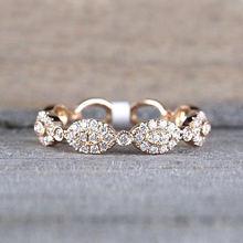 Ustar простые тонкие кольца на палец средней длины для женщин