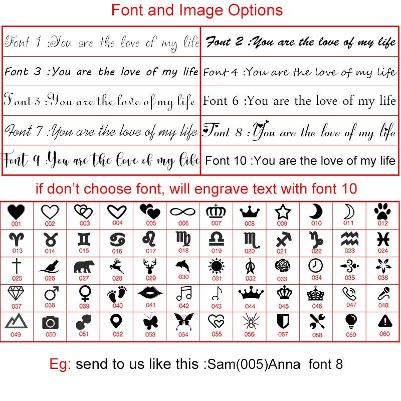 新刻字 字体图案