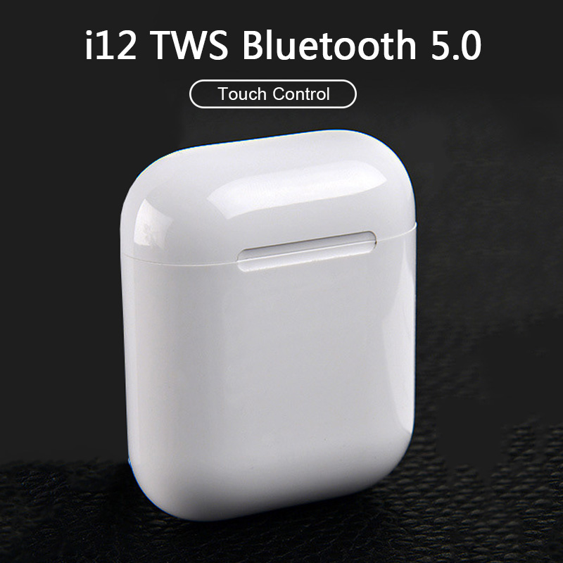 i12 TWS Wireless Headset Touch <font><b>Bluetooth</b></font> <font><b>5.0</b></font> Sport <font><b>Earphone</b></font> Stereo <font><b>i9S</b></font> Headphones For iPhone Xiaomi Huawei Samsung Smart Phone image