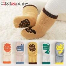 Новинка модные махровые утепленные детские носки balleenshiny