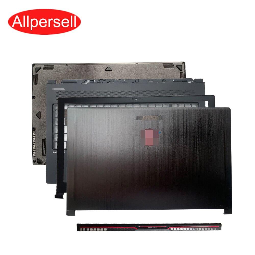 Laptop Case For MSI GS63 GS63VR MS-16K1 MS-16K2 LCD Back Shell Screen Border Palmrest Case Bottom Shell Hinged Cover