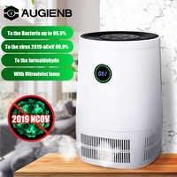 AUGIENB 2019 Neue Air Purifier Ionisator Mit HEPA-Filter Entfernen Geruch Raucher Staub Waschen Luft Für Home Zimmer Luft Reiniger filter