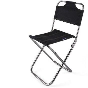 Silla Plegable al aire libre soporte portátil taburete de pesca Mazar Ultra...
