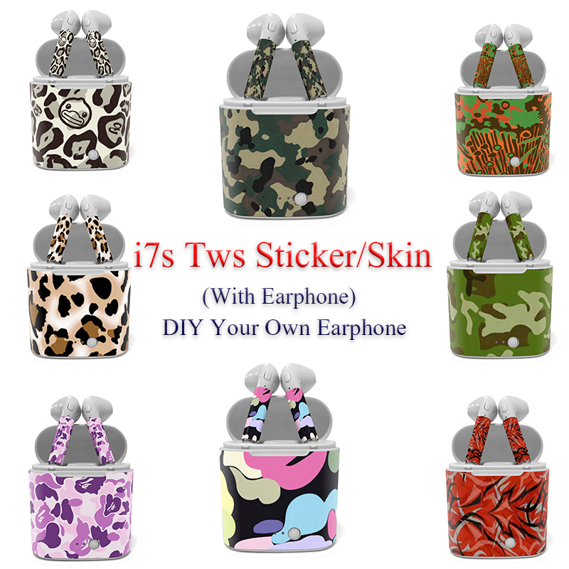I7s Wireless Bluetooth Earphone Sticker High Quality Skin For I7S Tws With Cheap Price