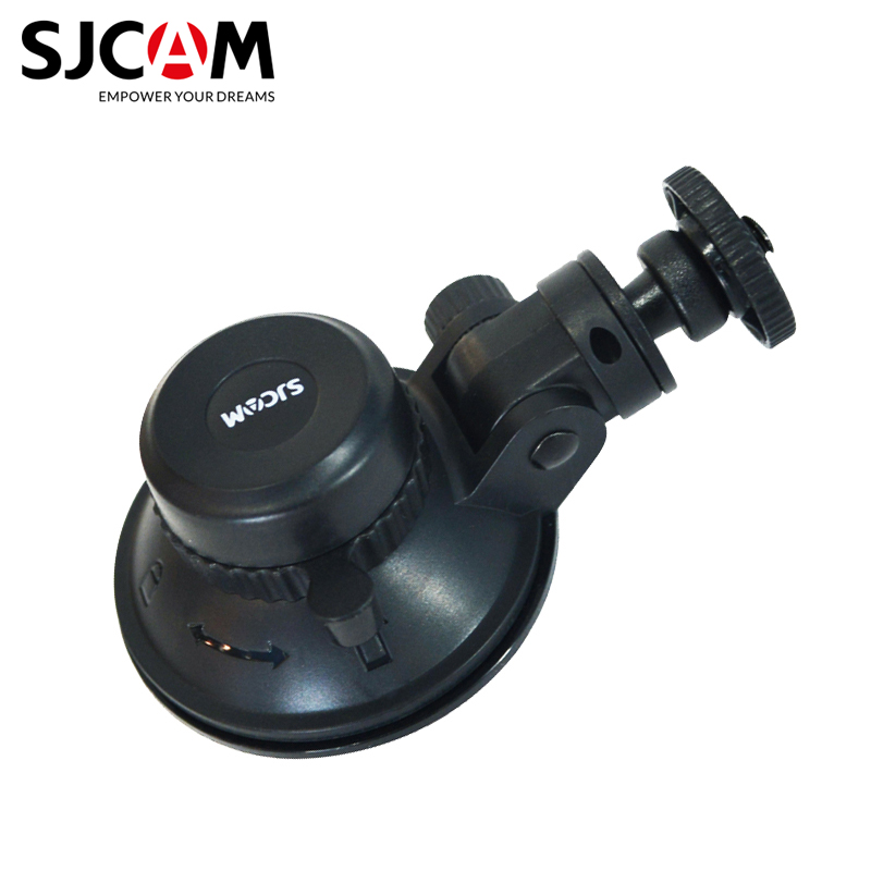 Original SJCAM Accessories Car Sucker Holder Mount Suction Cup 360 Degree Rotate For Yi SJ5000 M10 M20 SJ6 SJ7 SJ8 SJ9 4000 Air