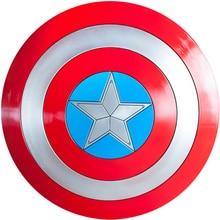 Kapitän Amerika rolle spielen 1:1 ABS kunststoff Schild Cosplay Geschenk Halloween Prop Durchmesser 57 cm Perfekte version Steve Rogers 1,2 kg