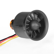 1 Pcs Freewing 70 Mm Edf Ducted Fan 12 Bla Des 4S E7215 W/2850KV Motor Voor 70 edf Rc Vliegtuig Model Diy Accessoires Onderdelen(China)