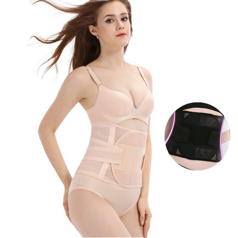 Maternity Postpartum Belt Bandage Slimming Corset Seamless Breathable Athletic Belt Trainer Waist Body Shaper Shapewear