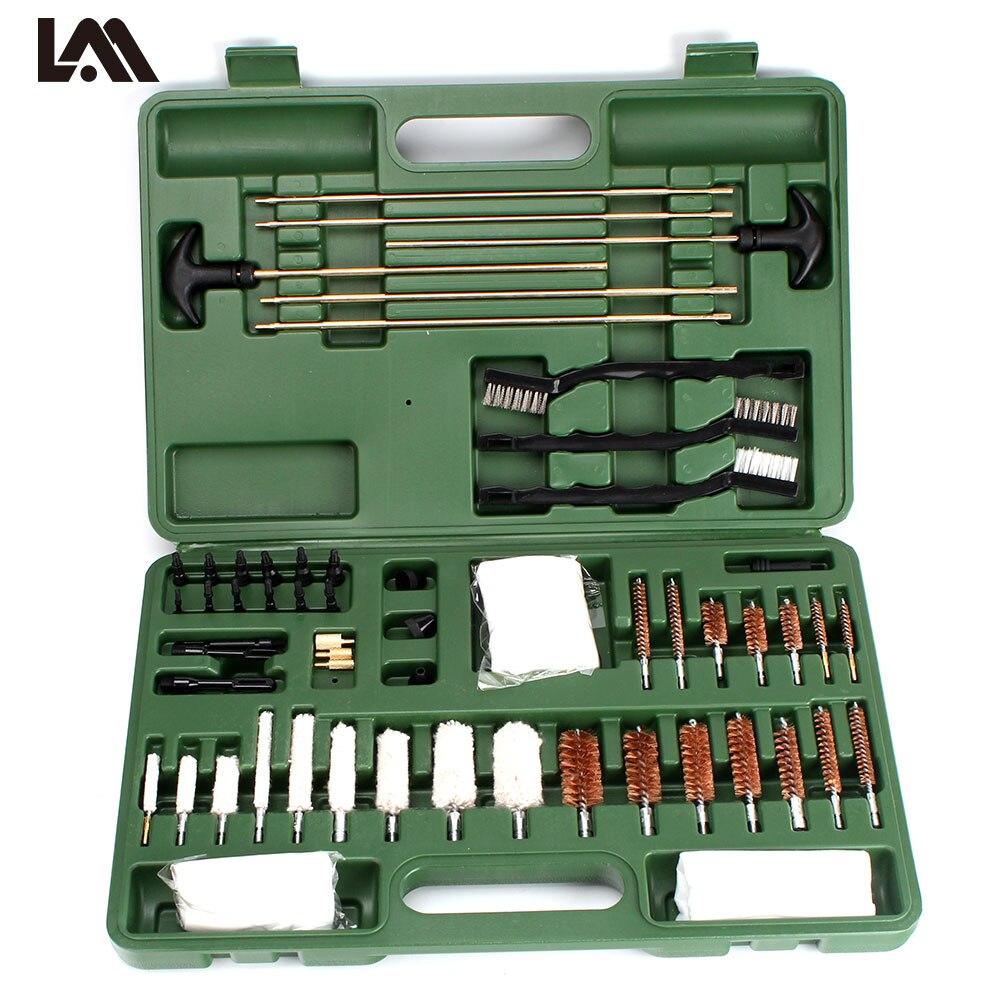 Lambul  62 Piece Tactical Universal Gun Cleaning Kit Supplies For Rifle Pistol Shot~Gun Free Shipping