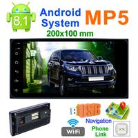 7 Inch Bluetooth Car Video For Android 8.1 Car Mp5 Gps Player + Phonelink+ +Bluetooth +AM/ FM Function+wifi Car Electronic