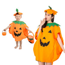DUOUPA Halloween Costume  Adult Children Pumpkin Show Holiday Cosplay Hat Shape Set