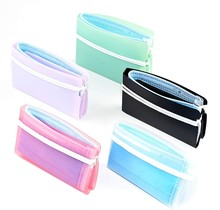 5pc Mini Portable Plastic Mask Clips Disposable Face Mask Storage Case Container Foldable Mask Holder Reuse Storage Mascarillas