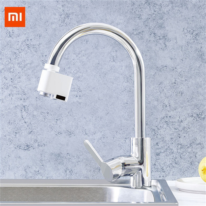 International Edition Xiaomi Zajia Automatic Infrared Sensor Inductor Water Saver Kitchen Bathroom Faucet Sink