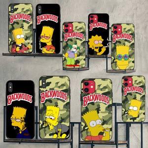 NBDRUICAI Simpson smoking backwoods Phone Case for iPhone 11 pro XS MAX 8 7 6 6S Plus X 5S SE 2020 XR case(China)