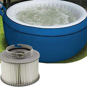 3 sztuk partia dla MSPA wymiana filtr pakiet x 3 nadmuchiwane wanna utrzymać czyste dla Mspa filtr wkład filtra wody nadmuchiwane Spa tanie i dobre opinie 11 5x8 6cm white-gray 3 x Mspa Filter house spa filter NONE CN (pochodzenie) Wanny spa