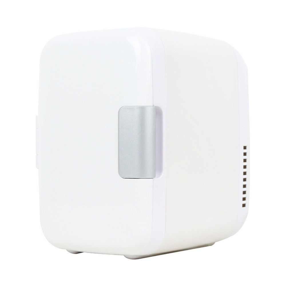 ثلاجة كهربائية منزلية 220 فولت ثلاجة منزلية للاستخدام المزدوج مسخن رائع 4L 220 فولت/12 فولت ثلاجة بيرة