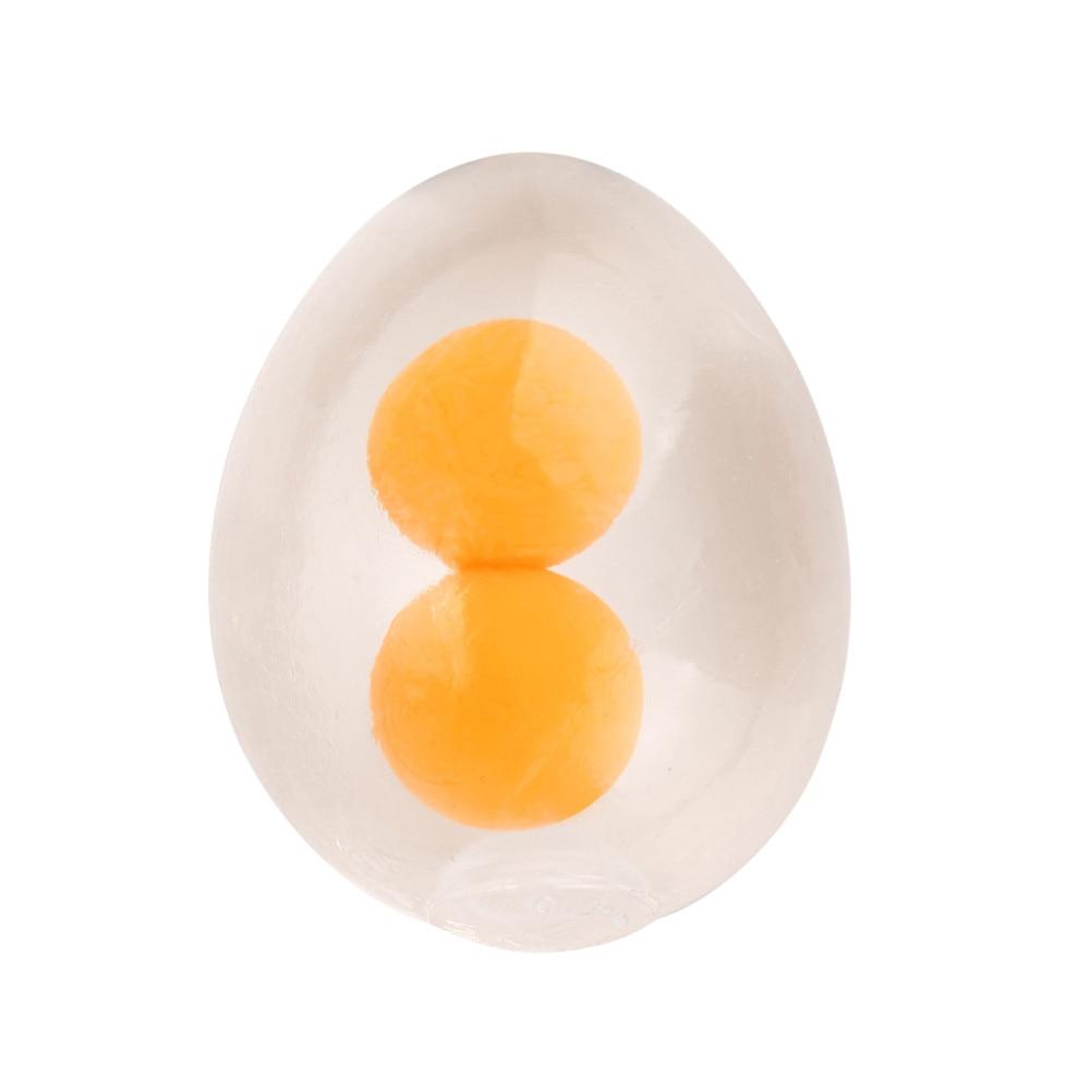 Squishy Toys Balls Stuffed-Toys-Eggs-Yolk-Balls Egg-Splat-Ball Anti-Stress Funky img5